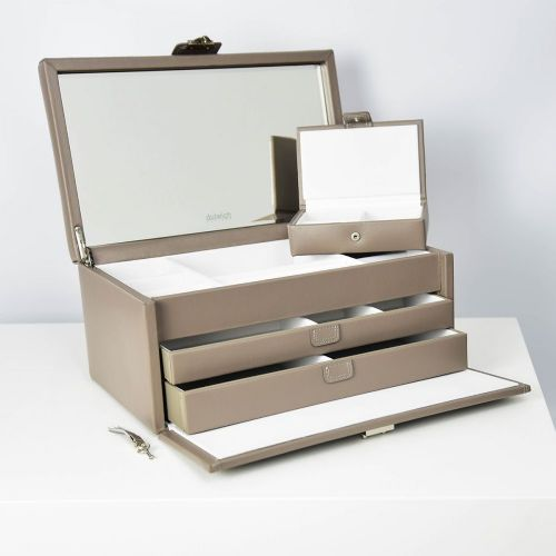 71039 Dulwich Designs Mayfair Extra Large Jewellery Box Mink